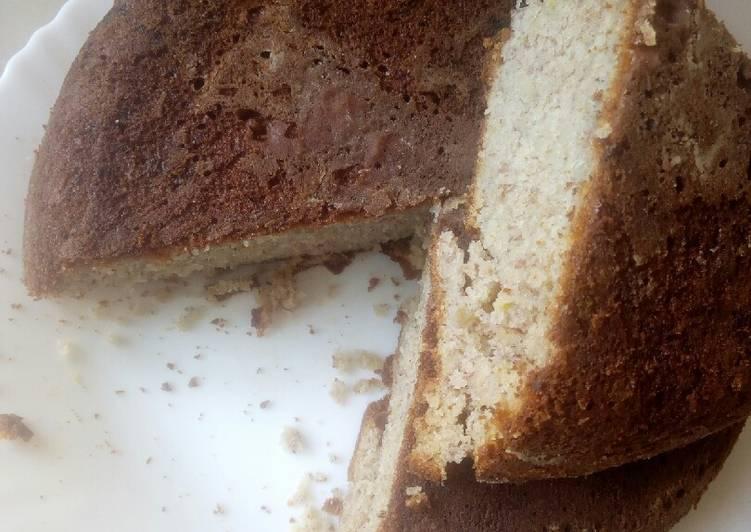Cinnamon banana cake #4weekschallenge