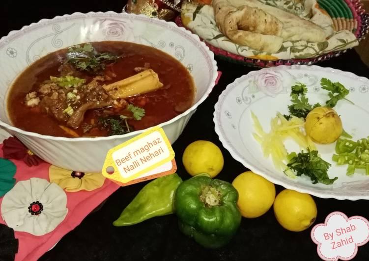 Beef Maghaz Nalli Nehari
