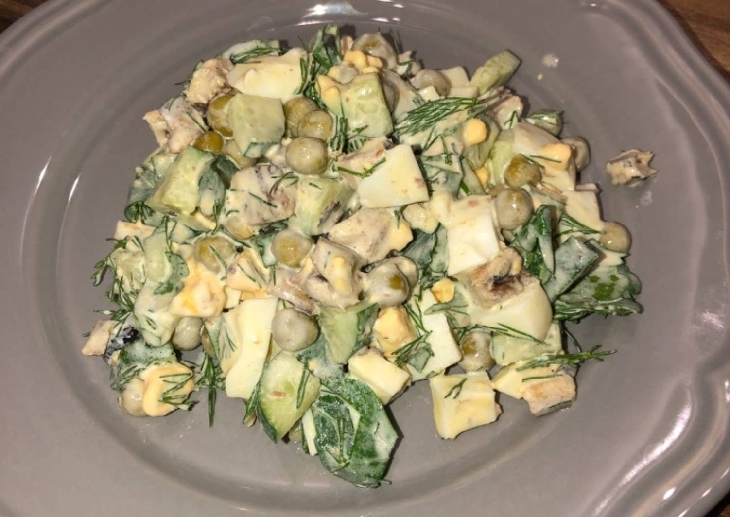 что салат из шпрот рецепт с фото вид