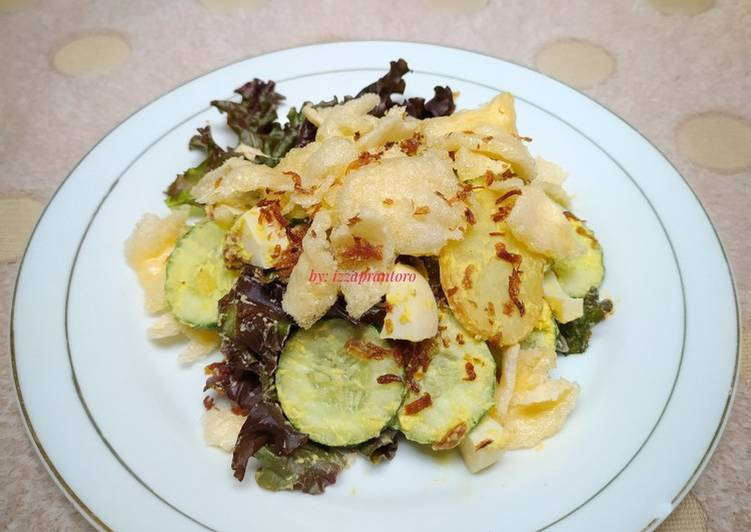 Salad sayur khas minang