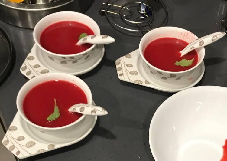Tomato Mint Shorba