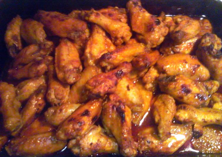 Recipe of Perfect Dani's Famous Saucy Hot Wings