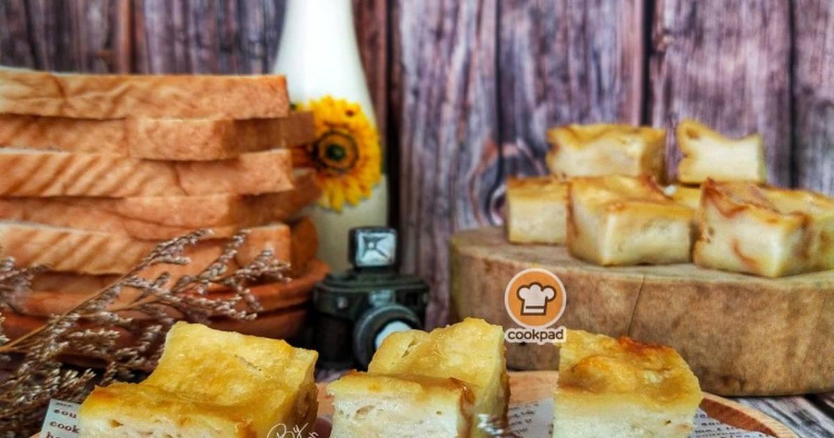 resepi bingka roti azlina ina  buat bingka roti guna blender sukatan cawan je cukup mudah Resepi Biskut Coklat Serbuk Roti Enak dan Mudah