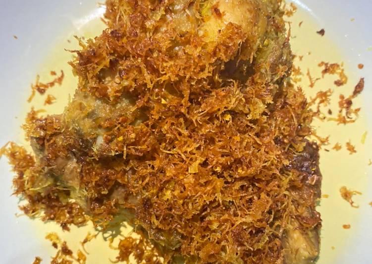 Ayam Ungkep Serundeng Simpel (No MSG)