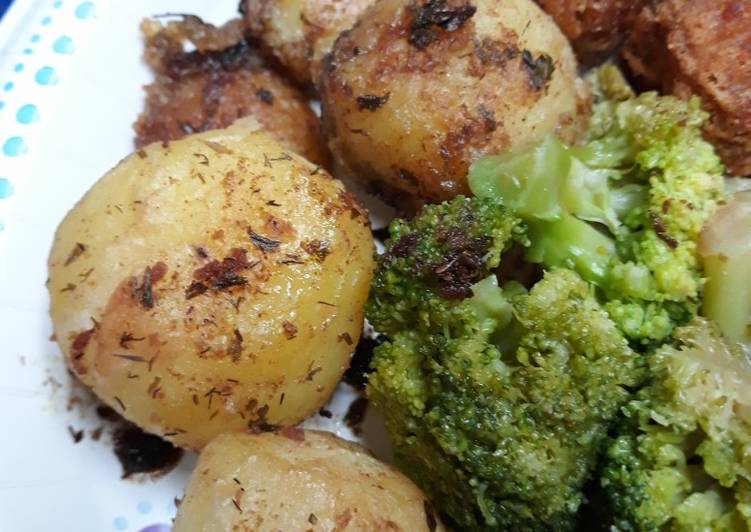 Potatoes Rissole