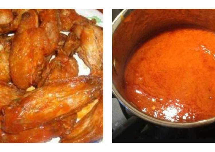 Jenn's Buffalo Sauce And Wings