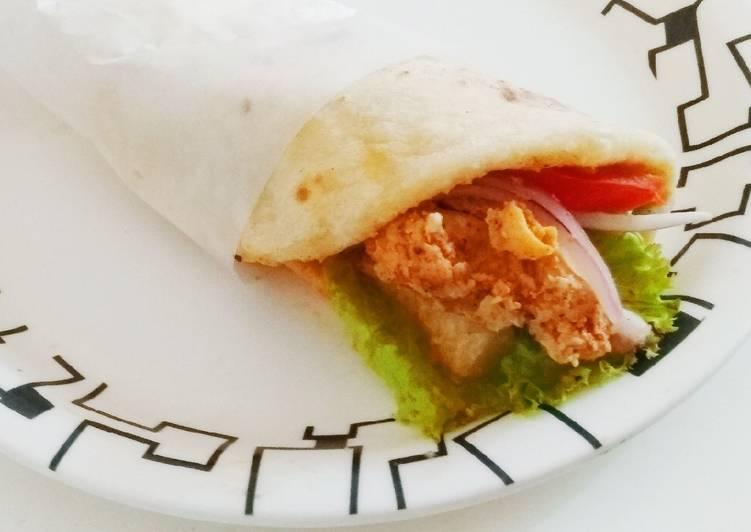 Chicken Shawarma in Pita Bread