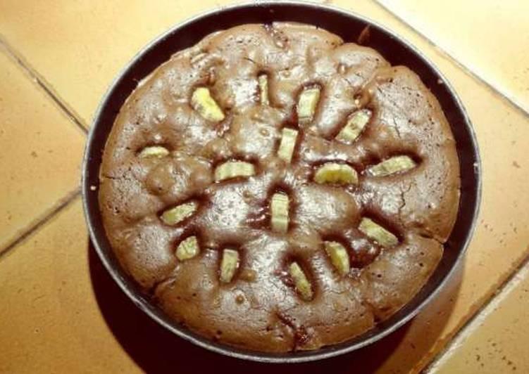 recette Fondant chocolat banane délicieux