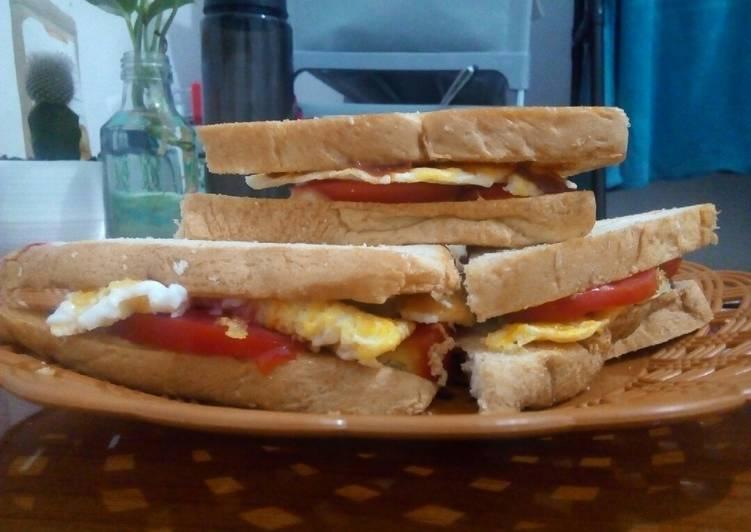 Resep Sandwich Telur untuk Sarapan Paling dicari