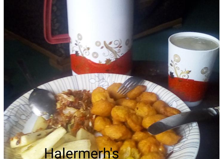 Classic Nigerian Breakfast