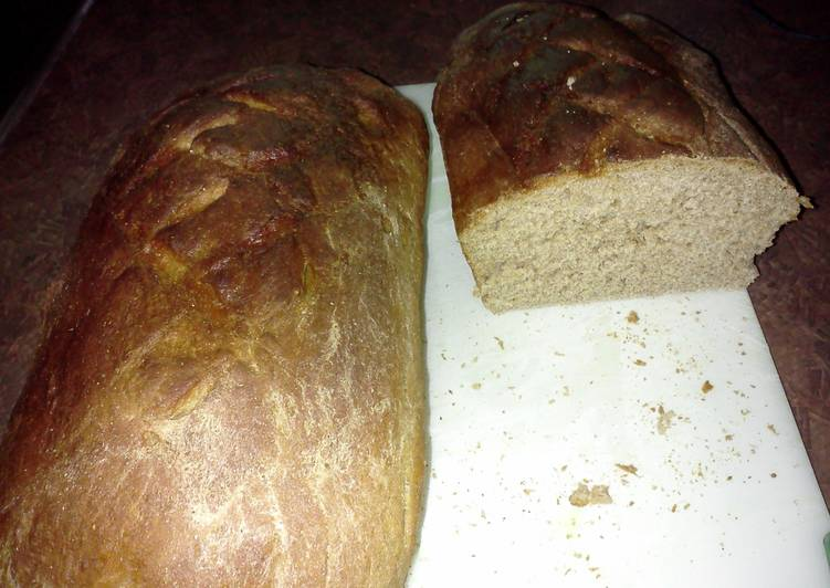 Craig's healthy wheat bread