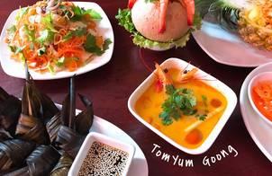 Canh tôm Tomyum Goong Thái