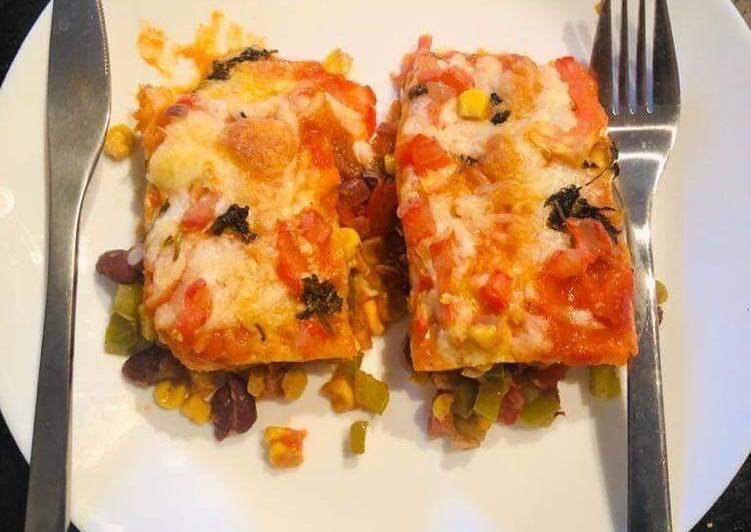 Easiest Way to Prepare Any-night-of-the-week Veg Enchiladas