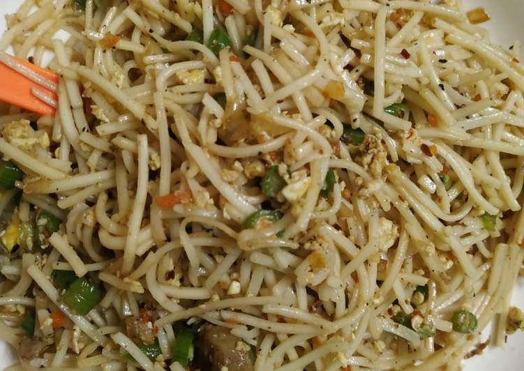 How to Prepare Perfect Mutton chowmein
