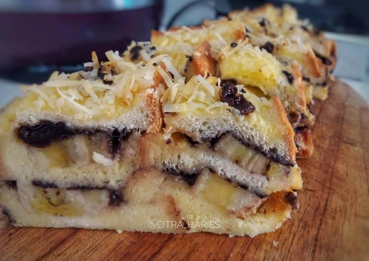 Bread Pudding Panggang