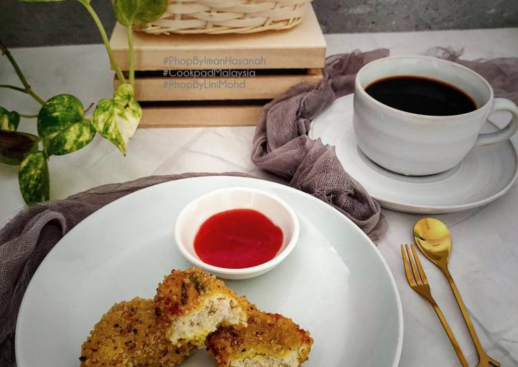 Nugget tanpa Telur dan Gluten #Batch21 #PhopByLiniMohd - velavinkabakery.com