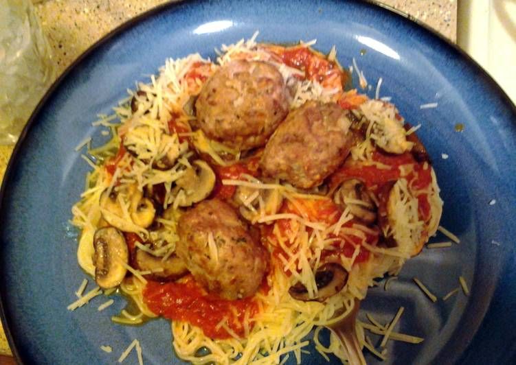 italian spaghetti and meatballs from scratch