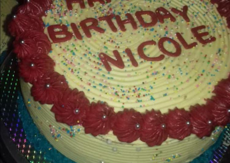 Recipe: Tasty Vanilla creamy cake