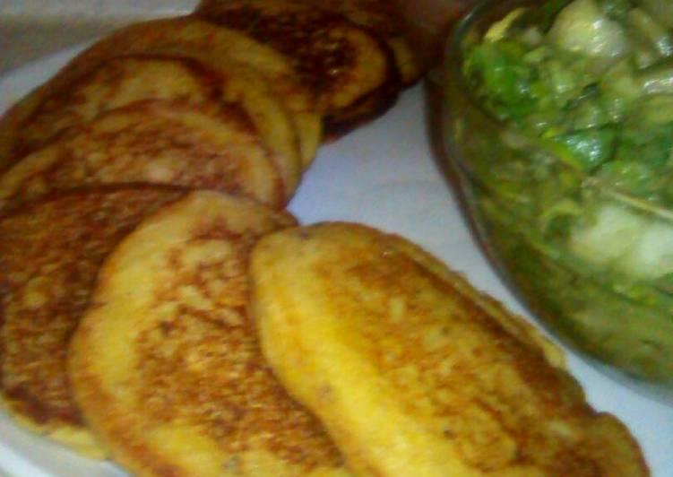 Tortitas De Plátano Macho Receta De Marychuy Lechuga Cookpad