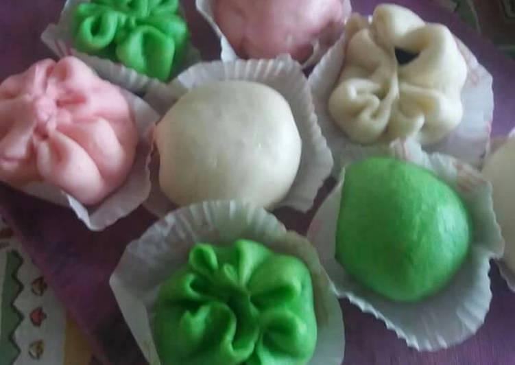 resep cara membuat Bakpao cantik,lembut,mudah🤗🤗