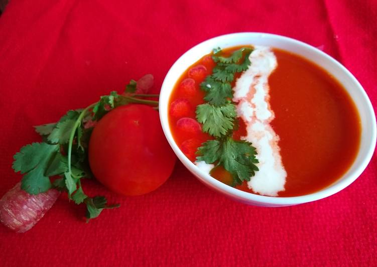 Step-by-Step Guide to Make Tomato carrot soup