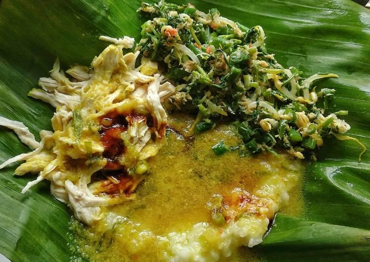 Bubur Ayam Bali ala Paon_made