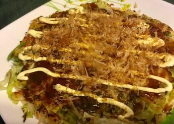 How to Prepare Tasty Japanese Pancake Okonomiyaki