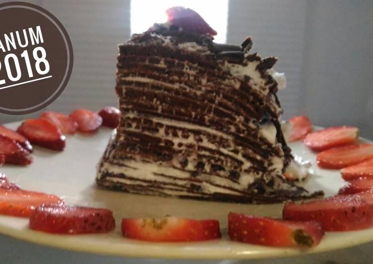 Millecrepes Chocolate