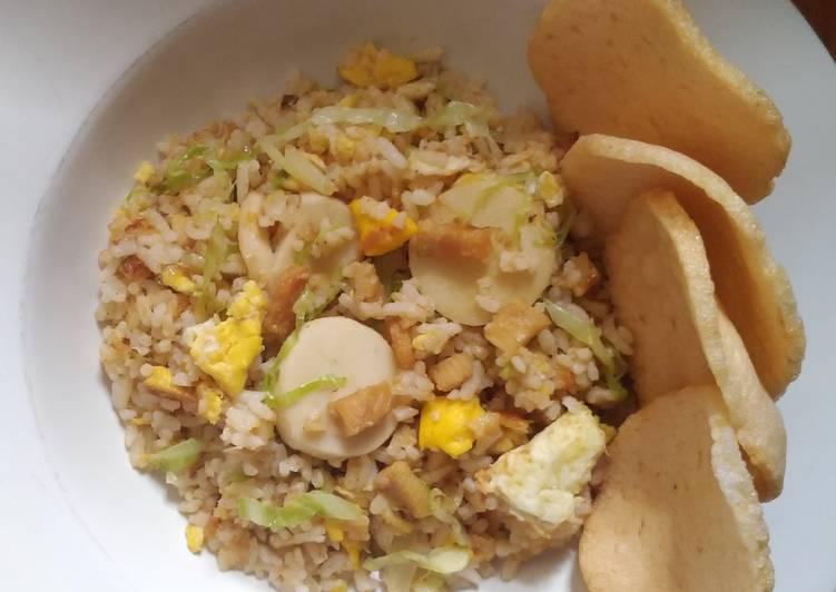 Langkah Mudah Membuat Nasi Goreng Ikan Asin Menggugah Selera