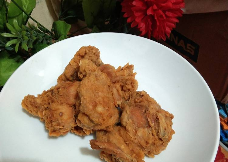Ayam Crispy ala ala KFC