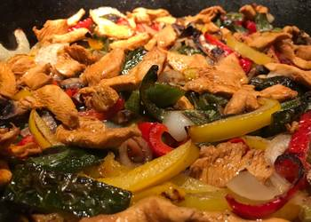 How to Recipe Tasty Spicy chile lime fajitas
