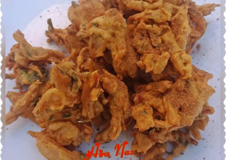 Recipe of Favorite Onion bajiya