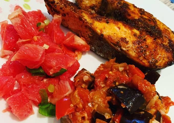 Sweet & Herbal Salmon Filet