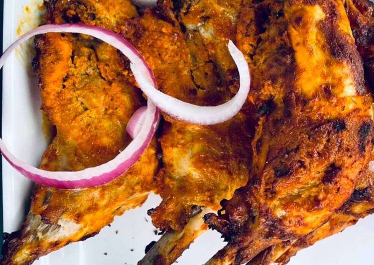 Easiest Way to Make Yummy Air Fryer Tandoori Chicken 🍗