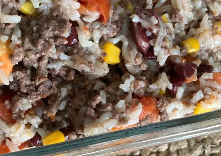 One pot rice à la mexicaine au Cookeo