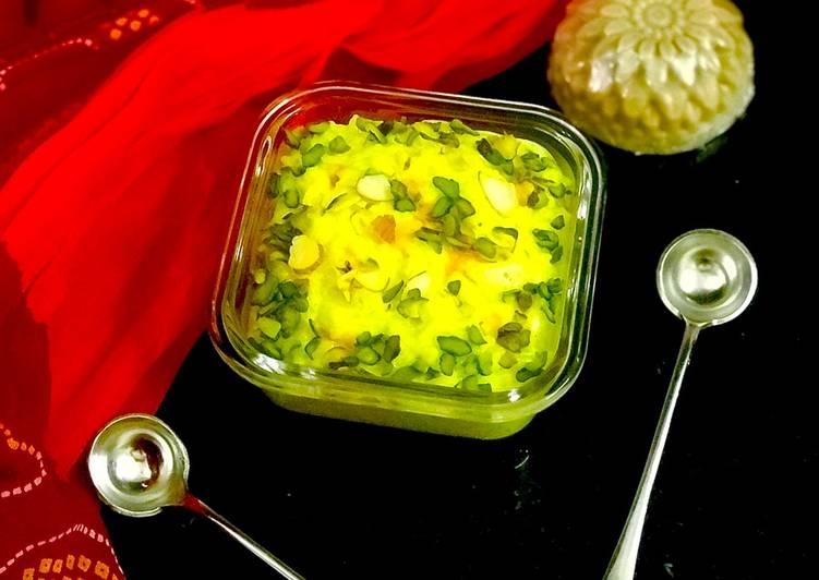Kheeranand: A Marwari dessert