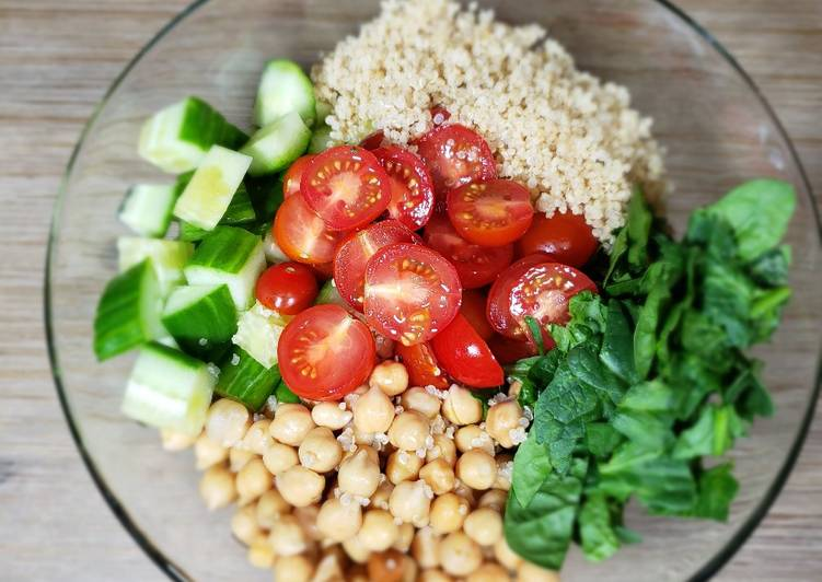 Easiest Way to Cook Tasty Quinoa salad
