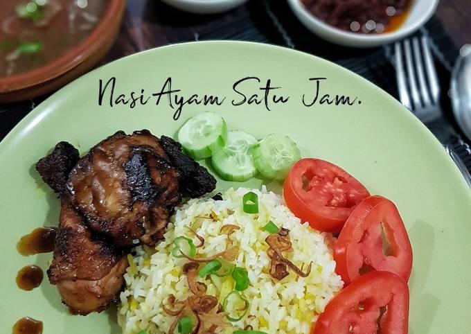 Nasi Ayam sedap 1 jam siap