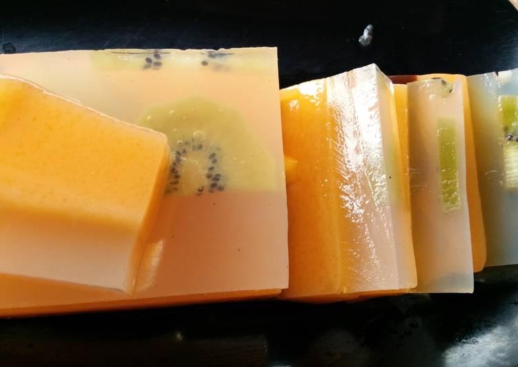 Pudding Kiwi Mangga