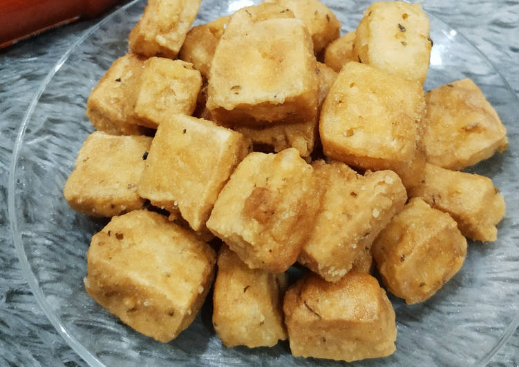 Crispy Tofu With Herb