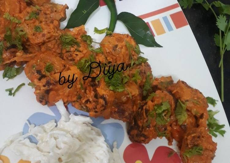 Step-by-Step Guide to Prepare Any-night-of-the-week Masala soya chaap