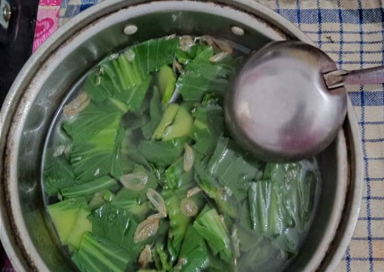Resep Sayur sawi sendok/pakcoy Yang Simple Pasti Endes