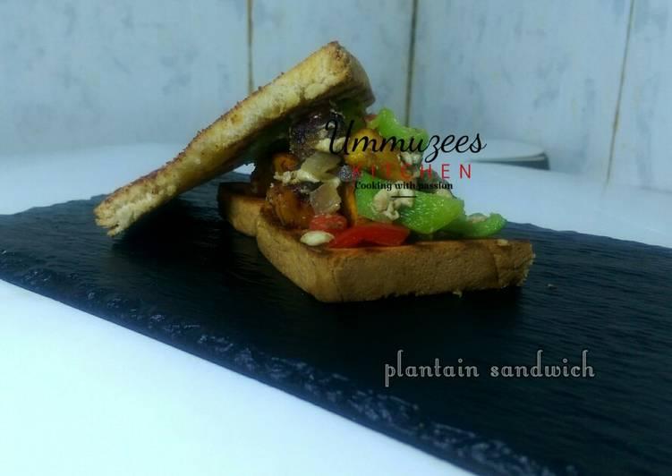 Plantain sandwich