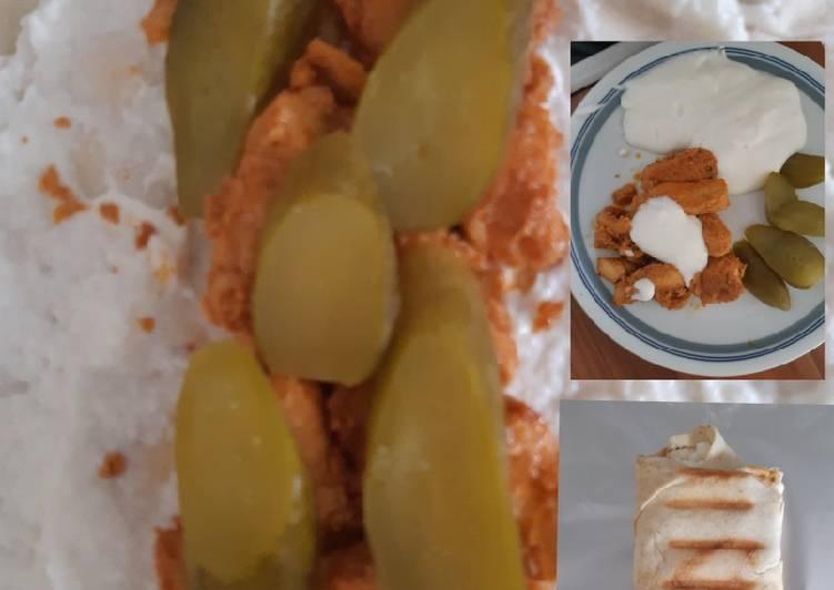 Shawarma + Knoblauchdip