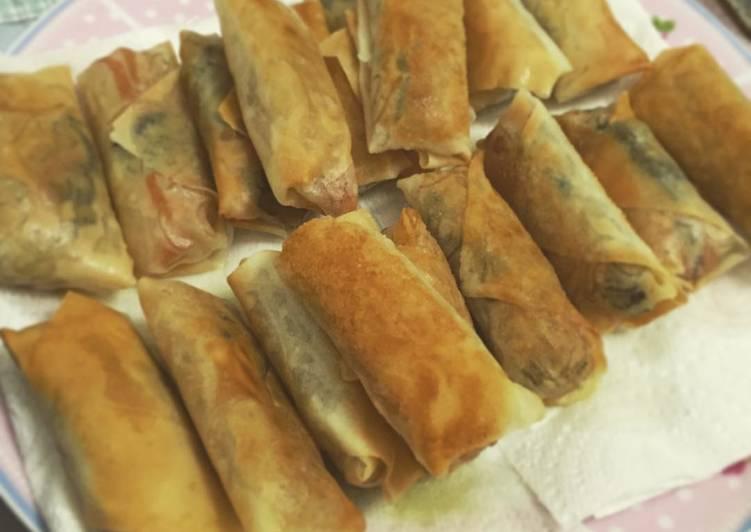 Recipe: Appetizing Spring rolls