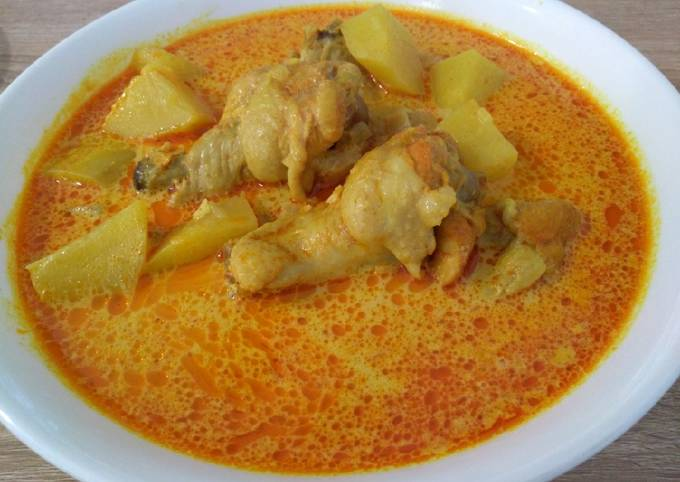 咖喱鸡 Chicken Curry