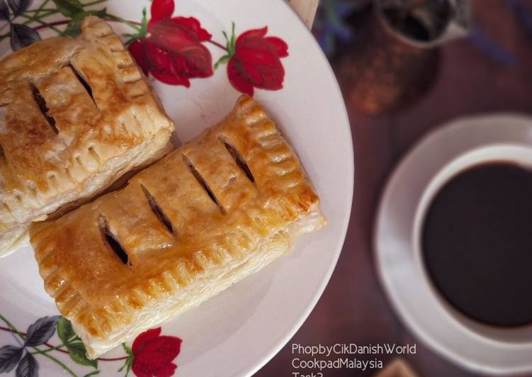 😋 Puff Coklat Sedap Air Fryer - resepipouler.com