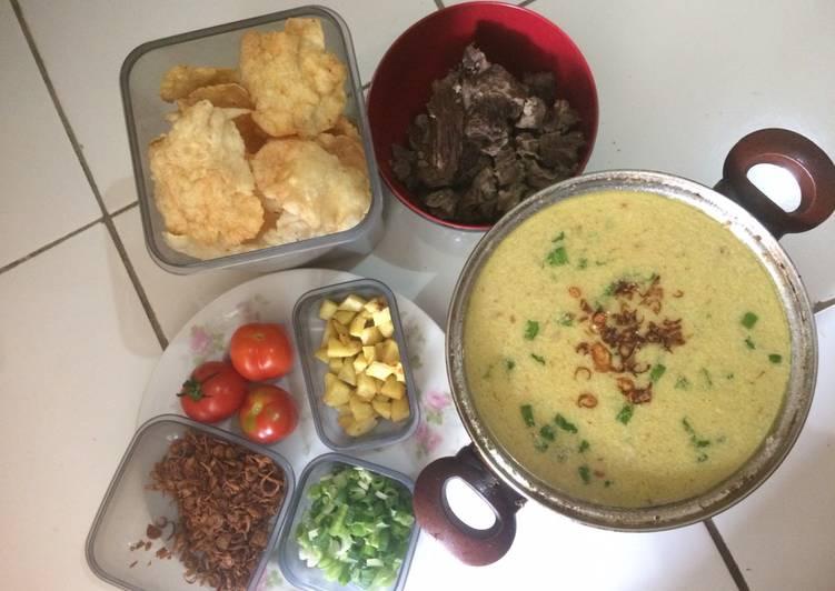 Soto Betawi Daging Sapi Kuah Susu Santan