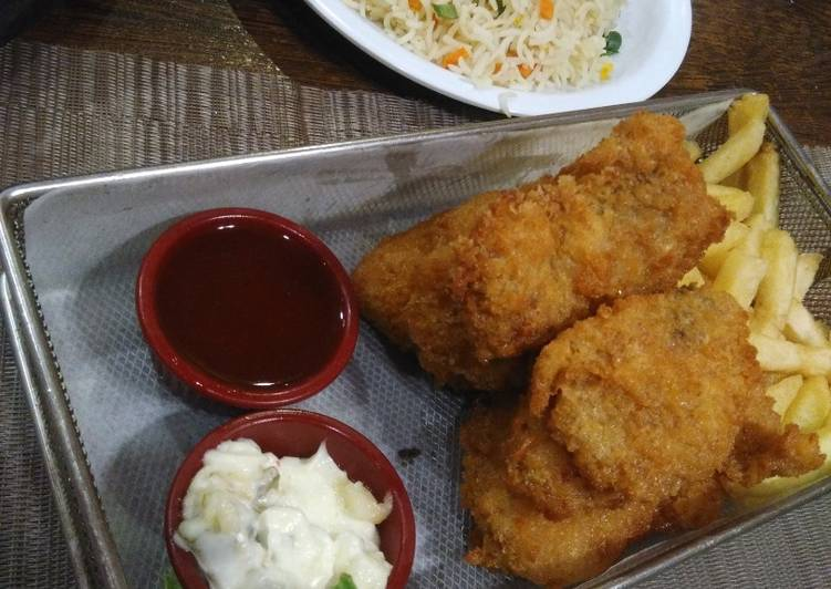 Fish & Chips, Help Your Heart with Food