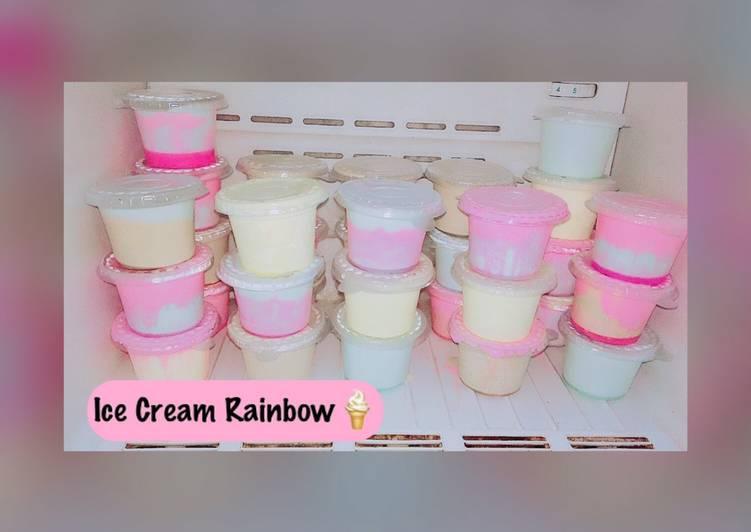 Ice Cream Rainbow